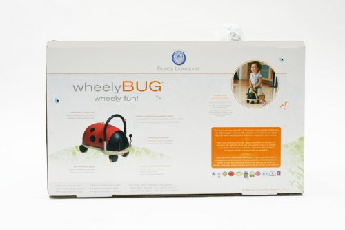 41EfcRiY3xL - Prince Lionheart Wheely Bug, Pig, Large, Child Ride-On Toy, Multi-Directional Casters, Helps Promote Gross Motor Skills and Balance