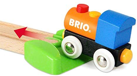 41WnF++y7HL. AC  - Brio World - 33826 My First Farm   12 Piece Wooden Toy Train Set for Kids Ages 18 Months and Up