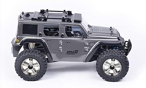 41XUJlW7jrL. AC  - Remote Control Car, 1:14 Scale RC Cars Off-Road 4WD Electric Rock Crawler Monster Vehicle Truck with Rechargeable Batteries for Boys Kids Teens and Adults