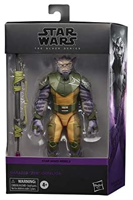 """41YIyI80FgL. AC  - Star Wars The Black Series Garazeb """"Zeb"""" Orrelios Toy 6-Inch-Scale Star Wars Rebels Collectible Deluxe Action Figure, Kids Ages 4 and Up"""