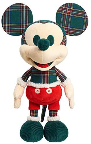 41YPDK YQsL. AC  - Disney Year of the Mouse Collector Plush, Holiday Spirit Mouse Mickey, Amazon Exclusive by Just Play