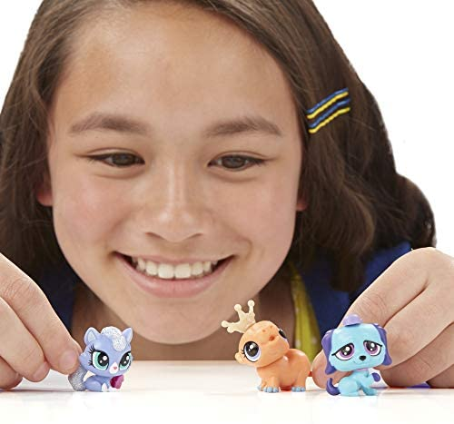 41ZAI54xdVL. AC  - Littlest Pet Shop Pet Party Spectacular Collector Pack Toy, Includes 15 Pets, Ages 4 and Up(Amazon Exclusive)