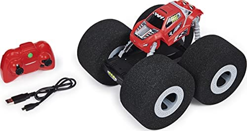 41ag9a3VIUS. AC  - Air Hogs Super Soft, Stunt Shot Indoor Remote Control Car with Soft Wheels, Toys for Boys, Aged 5 and up