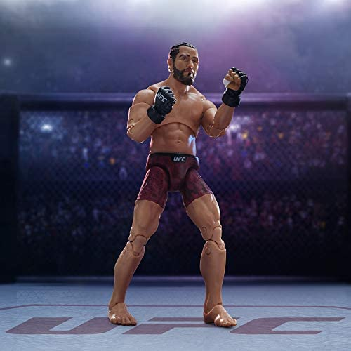 41ao0daAw9L. AC  - UFC Ultimate Series Jorge Masvidal Action Figure - 6.5 Inch Collectible