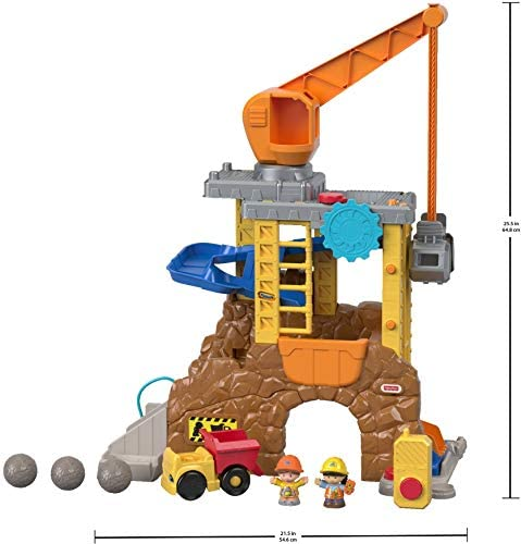 41cF3xU0D8L. AC  - Fisher-Price Little People Work Together Construction Site Playset