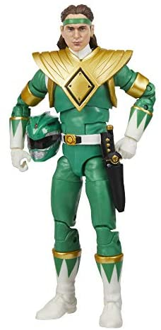 41cdu1u+WuL. AC  - Power Rangers Lightning Collection Mighty Morphin Green Ranger 6-Inch Premium Collectible Action Figure Toy with Accessories