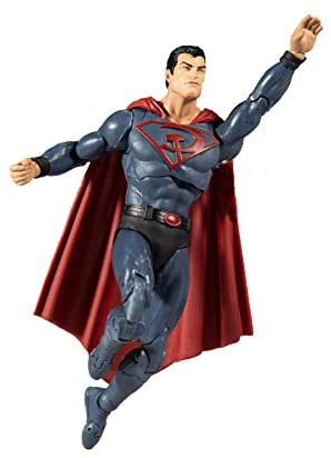 """41f+aar509L. AC  - McFarlane Toys DC Multiverse Superman: Red Son 7"""" Action Figure"""