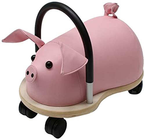 41fk58wn4gS - Prince Lionheart Wheely Bug, Pig, Large, Child Ride-On Toy, Multi-Directional Casters, Helps Promote Gross Motor Skills and Balance