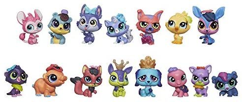 41fn4CJneCL. AC  - Littlest Pet Shop Pet Party Spectacular Collector Pack Toy, Includes 15 Pets, Ages 4 and Up(Amazon Exclusive)