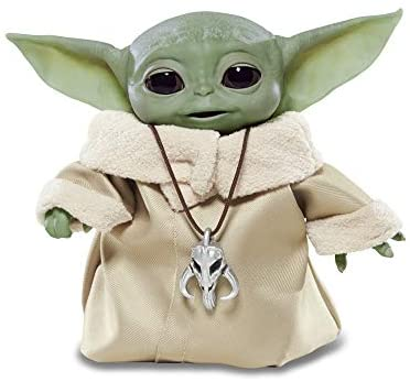 41kOBoHmtjL. AC  - Star Wars The Child Animatronic Edition 7.2-Inch-Tall Toy by Hasbro with Over 25 Sound and Motion Combinations, Toys for Kids Ages 4 and Up