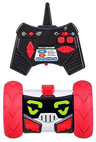 41l6hU8p5gL. AC  - Really RAD Robots - Electronic Remote Control Robot with Voice Command - Built for Speed and Tricks - Turbo Bot