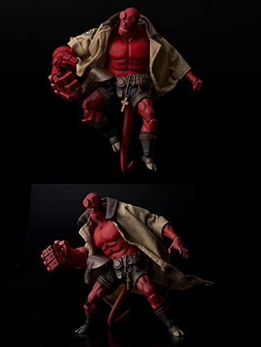 41lyao0ZXiL. AC  - 1000 Toys Hellboy BPRD Shirt Version 1:12 Scale Action Figure