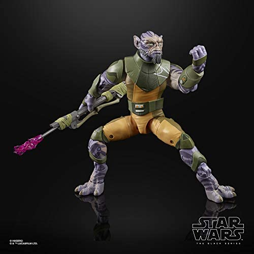 """41o5jqu8LPL. AC  - Star Wars The Black Series Garazeb """"Zeb"""" Orrelios Toy 6-Inch-Scale Star Wars Rebels Collectible Deluxe Action Figure, Kids Ages 4 and Up"""