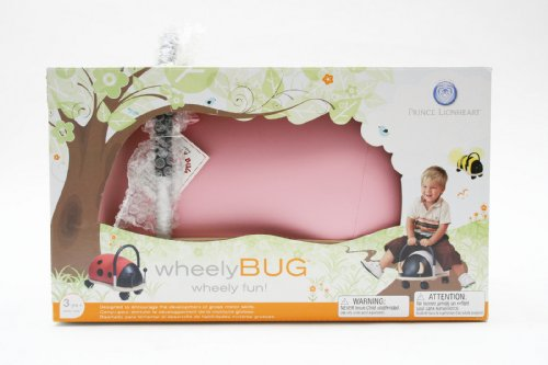 41q98gl2QoL - Prince Lionheart Wheely Bug, Pig, Large, Child Ride-On Toy, Multi-Directional Casters, Helps Promote Gross Motor Skills and Balance