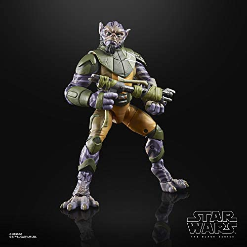 """41sGN+3lwaL. AC  - Star Wars The Black Series Garazeb """"Zeb"""" Orrelios Toy 6-Inch-Scale Star Wars Rebels Collectible Deluxe Action Figure, Kids Ages 4 and Up"""
