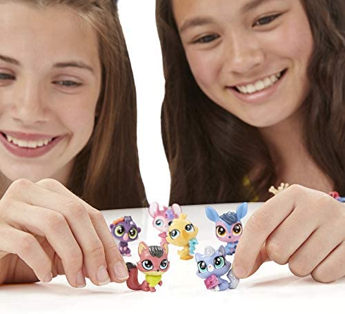 41tOCl6t9pL. AC  - Littlest Pet Shop Pet Party Spectacular Collector Pack Toy, Includes 15 Pets, Ages 4 and Up(Amazon Exclusive)