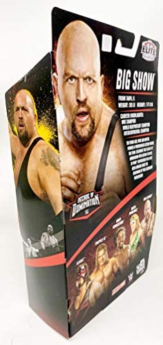 41tX2OW77aL. AC  - WWE Elite Collection Big Show Decade of Domination Series Action Figure