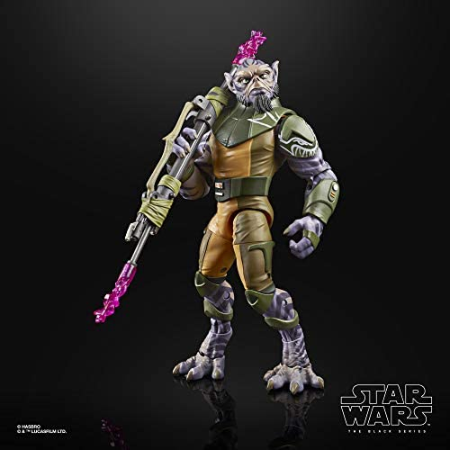 """41xV8o6FJ9L. AC  - Star Wars The Black Series Garazeb """"Zeb"""" Orrelios Toy 6-Inch-Scale Star Wars Rebels Collectible Deluxe Action Figure, Kids Ages 4 and Up"""