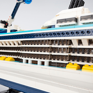 4895babc f451 4f78 9432 7e886548f0ea.  CR0,0,300,300 PT0 SX300 V1    - Nifeliz Cruise Liner Model, Toy Boat Building Blocks Kits and Engineering Toy, Construction Set to Build, Model Set and Assembly Toy for Teens(2428 Pcs)