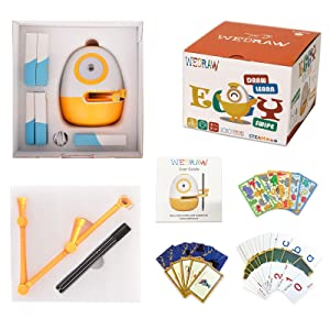 4f32524a 52a3 4759 87a7 0aaf982a2b8e.  CR0,0,1600,1600 PT0 SX300 V1    - WEDRAW Toddler Learning Educational Toys for 3 4 5 year old kids,Interactive Talking Drawing Robot Teach Math Sight Words Preschool Kindergarten Learning Activities Toy Gift for Girls and Boys Age 3-5
