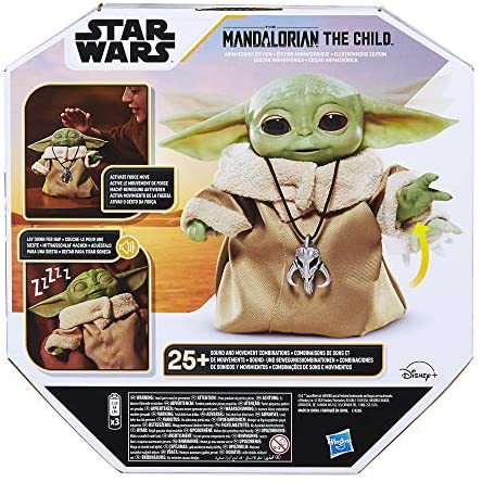 512zbrV4fhL. AC  - Star Wars The Child Animatronic Edition 7.2-Inch-Tall Toy by Hasbro with Over 25 Sound and Motion Combinations, Toys for Kids Ages 4 and Up