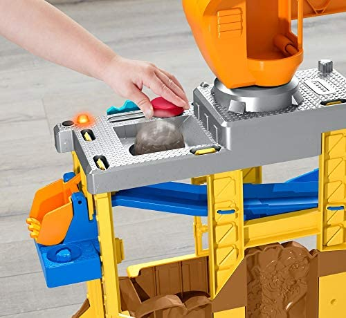 513bP0zMgpL. AC  - Fisher-Price Little People Work Together Construction Site Playset