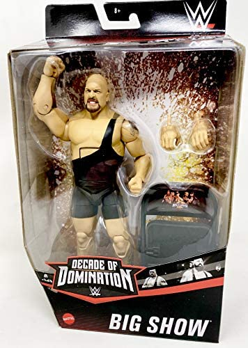 513v0pZyeWL. AC  - WWE Elite Collection Big Show Decade of Domination Series Action Figure