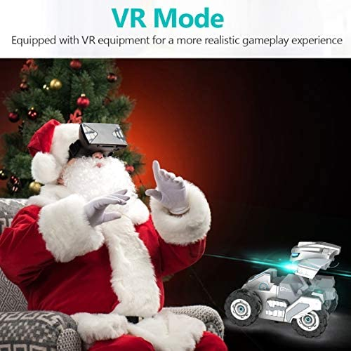 516GRseogGL. AC  - RC Cars, Remote Control Car with 720P HD Camera, 4WD WiFi FPV High Speed Gravity Sensor with Lights, AR Mode Electric RC Trucks 1:18 Versus Mode Car with Rechargeable Battery for Kids and Adults