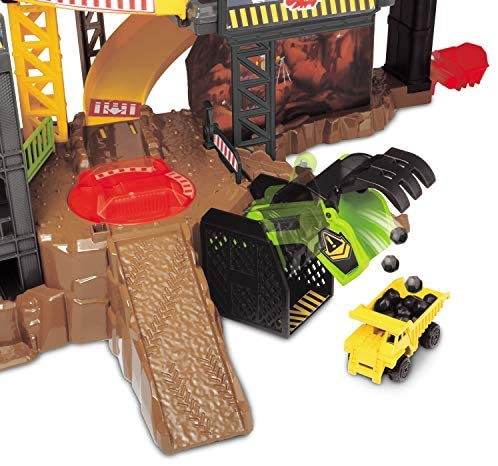 516Y8 atpZL. AC  - Dickie Toys - Construction Playset With 4 Die-Cast Cars