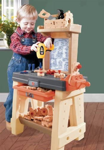 519mNaGxe6L. AC  - Step2 Real Projects Toy Workshop With Tools