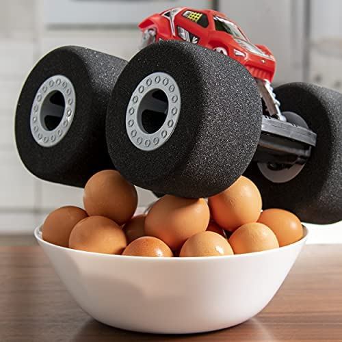 51AMXAv1AmS. AC  - Air Hogs Super Soft, Stunt Shot Indoor Remote Control Car with Soft Wheels, Toys for Boys, Aged 5 and up