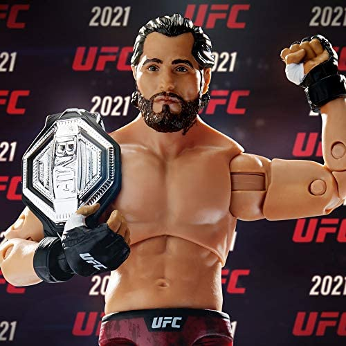 51AnNJUS2tL. AC  - UFC Ultimate Series Jorge Masvidal Action Figure - 6.5 Inch Collectible