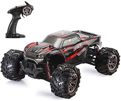 51DS9X7YPHL. AC  - LUKAT Remote Control Car, 1:20 Off Road RC Racing Car 26+ Km/h High Speed Electric Monster 4x4 Waterproof Toy Vehicle Truck 2.4Ghz Radio Controlled Car Gift for Adults and Kids, Hobbyist Grade