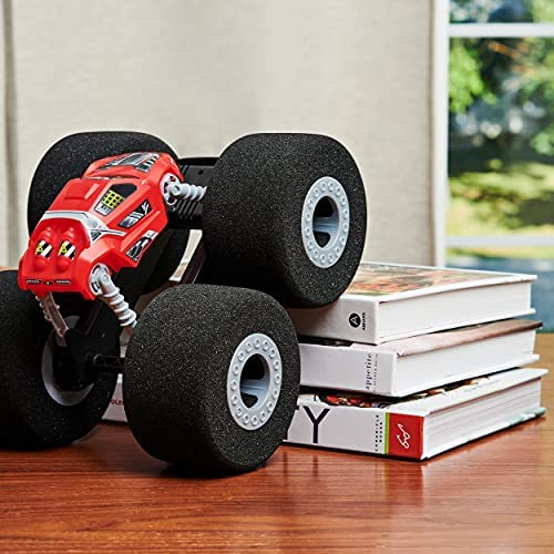 51HOUa4WpUS. AC  - Air Hogs Super Soft, Stunt Shot Indoor Remote Control Car with Soft Wheels, Toys for Boys, Aged 5 and up