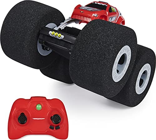 51IeB5n cSS. AC  - Air Hogs Super Soft, Stunt Shot Indoor Remote Control Car with Soft Wheels, Toys for Boys, Aged 5 and up