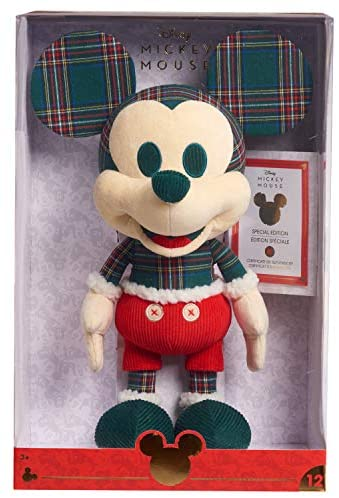 51KlshOhfgL. AC  - Disney Year of the Mouse Collector Plush, Holiday Spirit Mouse Mickey, Amazon Exclusive by Just Play