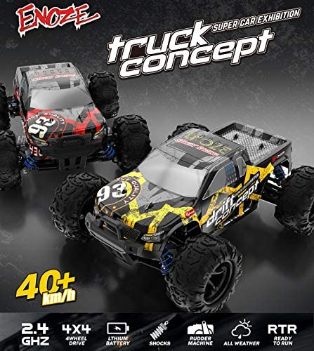 51LgvmPMUBL. AC  - SZJJX RC Cars 40+ KM/H High Speed Remote Control Car 4WD RC Monster Truck for Adults, All Terrain Off Road Toy Truck with Extra Shell 2 Batteries, 40+ Min Play Car Gifts for Kids