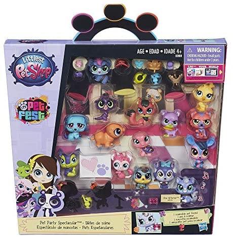 51Pvg1kqMYL. AC  - Littlest Pet Shop Pet Party Spectacular Collector Pack Toy, Includes 15 Pets, Ages 4 and Up(Amazon Exclusive)