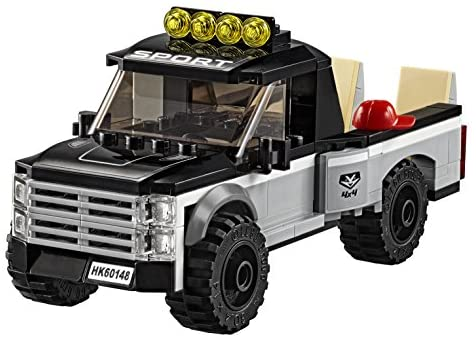 51UJE3dRLcL. AC  - LEGO City ATV Race Team 60148 Building Kit with Toy Truck and Race Car Toys (239 Pieces) (Discontinued by Manufacturer)
