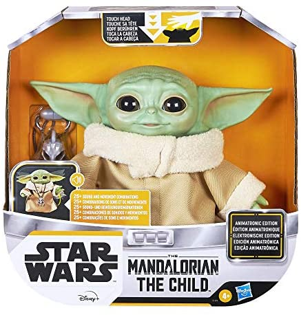51USz6WwwcL. AC  - Star Wars The Child Animatronic Edition 7.2-Inch-Tall Toy by Hasbro with Over 25 Sound and Motion Combinations, Toys for Kids Ages 4 and Up