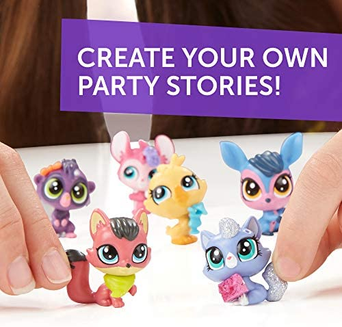 51UfcrqhIfL. AC  - Littlest Pet Shop Pet Party Spectacular Collector Pack Toy, Includes 15 Pets, Ages 4 and Up(Amazon Exclusive)