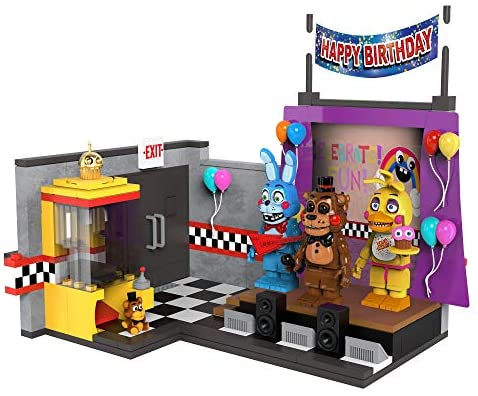 51UhiLQodML. AC  - McFarlane Toys Five Nights at Freddy's The Toy Stage Large Set