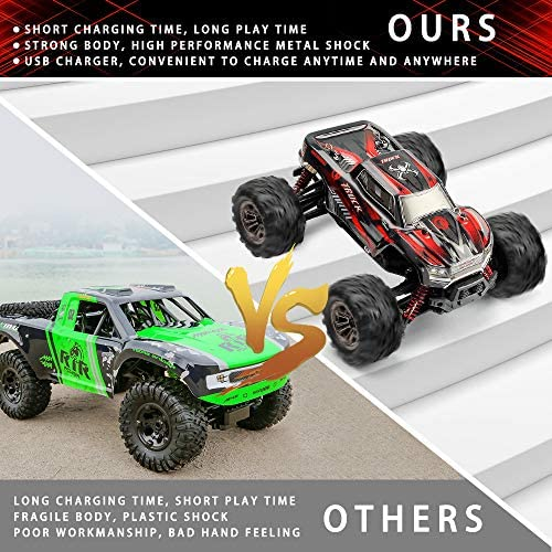 51WXSXpK+iL. AC  - LUKAT Remote Control Car, 1:20 Off Road RC Racing Car 26+ Km/h High Speed Electric Monster 4x4 Waterproof Toy Vehicle Truck 2.4Ghz Radio Controlled Car Gift for Adults and Kids, Hobbyist Grade