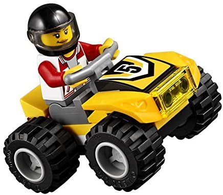 51YXfkZlgfL. AC  - LEGO City ATV Race Team 60148 Building Kit with Toy Truck and Race Car Toys (239 Pieces) (Discontinued by Manufacturer)