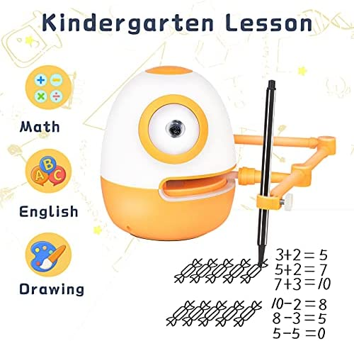51cU1cs3LMS. AC  - WEDRAW Toddler Learning Educational Toys for 3 4 5 year old kids,Interactive Talking Drawing Robot Teach Math Sight Words Preschool Kindergarten Learning Activities Toy Gift for Girls and Boys Age 3-5