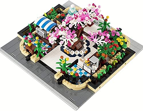 51d0ll2TuAS. AC  - Garden Tree House Set with Lighting Kit, City Creator Building Bricks Blocks for Teens and Adults, Architecture Educational Construction Toy Teen Boy Gifts Compatible with Lego (2147 Pieces)