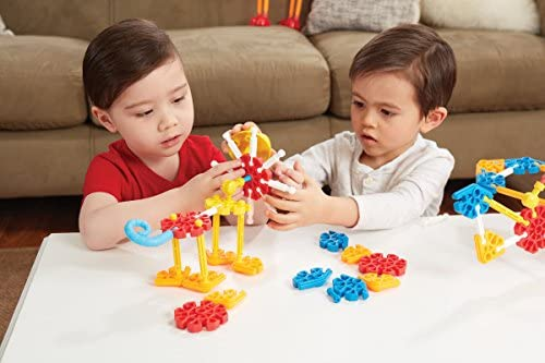 51dkydo1O1L. AC  - KID K'NEX – Oodles of Pals Building Set – 116 Pieces – Ages 3 and Up Preschool Educational Toy (Amazon Exclusive)