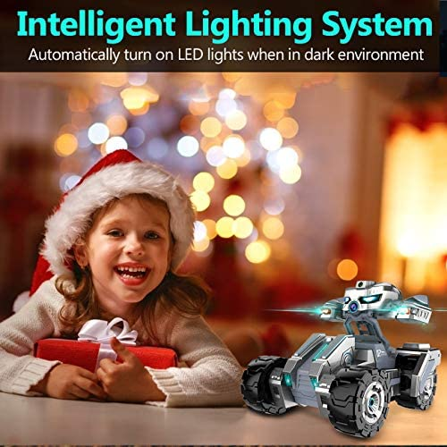 51eL4FjvyOL. AC  - RC Cars, Remote Control Car with 720P HD Camera, 4WD WiFi FPV High Speed Gravity Sensor with Lights, AR Mode Electric RC Trucks 1:18 Versus Mode Car with Rechargeable Battery for Kids and Adults