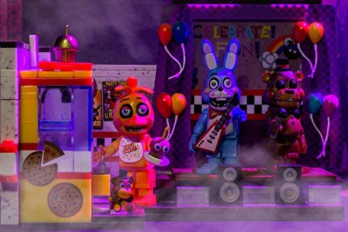51iRpsHwLyL. AC  - McFarlane Toys Five Nights at Freddy's The Toy Stage Large Set