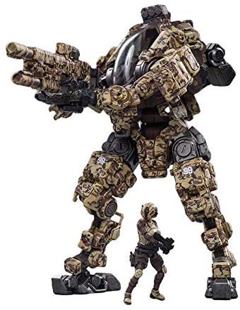 51liimhFf L. AC  - JOYTOY 1/25 Action Figures Steel Bone Attack Mecha H03 Camouflage Anime Figure Collection Modern Military Model Dark Source Toys
